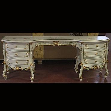 Мебель ручной работы. Ярмарка Мастеров - ручная работа Стол из дуба и бука (№130). Handmade.