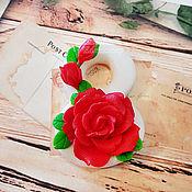 handmade. Livemaster - original item Eight Handmade Soap Gift Curly March 8 for Women. Handmade.
