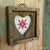 Картины и панно ручной работы. Ярмарка Мастеров - ручная работа Сердце Скандинавии. Handmade.