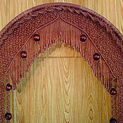Для дома и интерьера ручной работы. Ярмарка Мастеров - ручная работа Штора на дверной проём, арку.. Handmade.