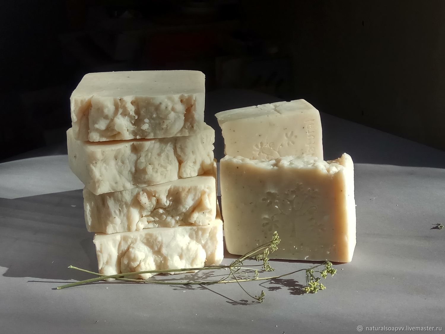 Tea tree-antiseptic toilet soap from scratch, Soap, Permian,  Фото №1