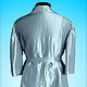 Верхняя одежда ручной работы. Серебристый плащ. Marina_S. Интернет-магазин Ярмарка Мастеров. Плащ, жаккардовая ткань