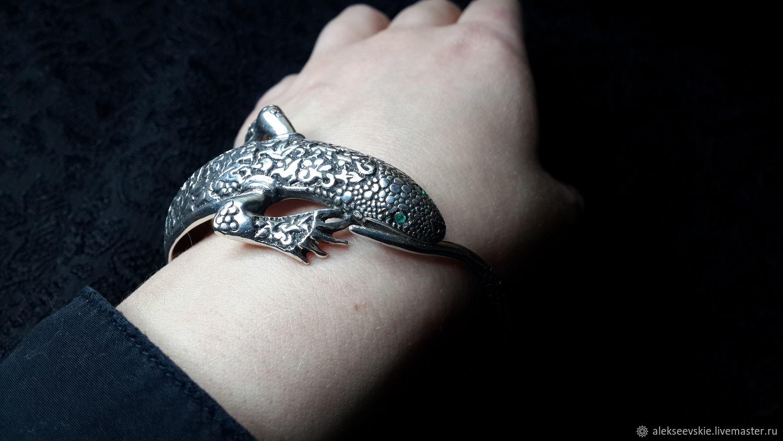 bracelet 'Lizard', Bead bracelet, Moscow,  Фото №1