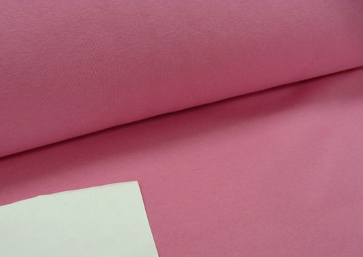 """Шитье ручной работы. Ярмарка Мастеров - ручная работа. Купить Футер  3-х нитка """"""""Розовый"""" с начесом. Handmade. Ткань"""