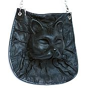 Сумки и аксессуары handmade. Livemaster - original item 3D Bag genuine leather