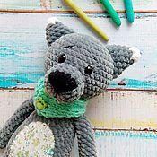 Куклы и игрушки ручной работы. Ярмарка Мастеров - ручная работа Волк Мякиш. Handmade.