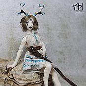 Куклы и игрушки handmade. Livemaster - original item Raquel, deer (13 cm). Handmade.