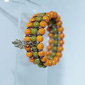 Украшения handmade. Livemaster - original item Multi-row Bracelet  Forest fairy tale. Handmade.