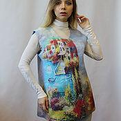 Одежда handmade. Livemaster - original item Vest felted Venice!. Handmade.