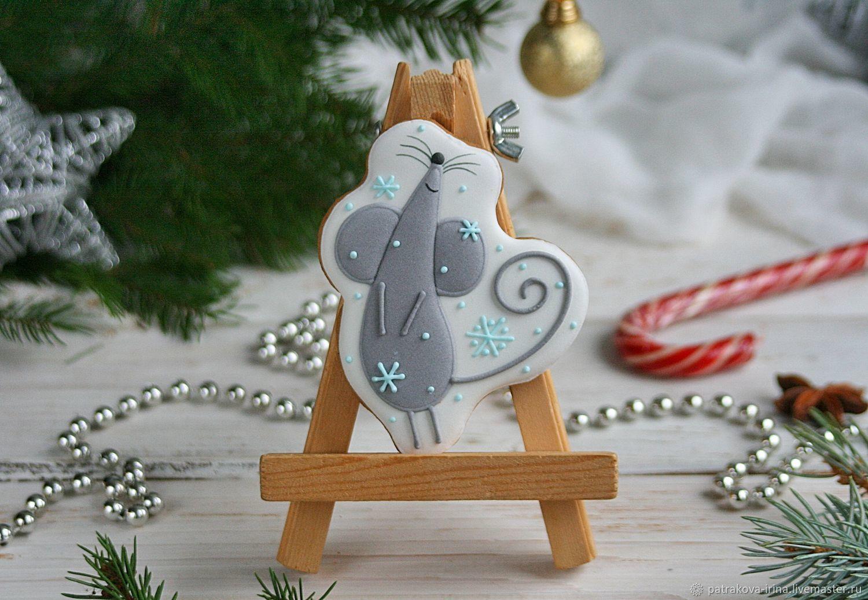 Мышка - символ года, Пряники, Москва,  Фото №1