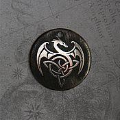 "Украшения handmade. Livemaster - original item Украшение - оберег ""Дракон западный"". Handmade."