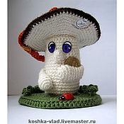 """Куклы и игрушки ручной работы. Ярмарка Мастеров - ручная работа Талисман """"Белый денежный гриб"""". Handmade."""