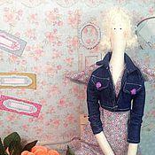 Куклы и игрушки handmade. Livemaster - original item Spring Tilda angel (angel garden) sold. Handmade.