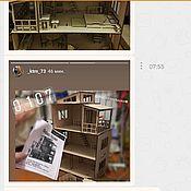 Кукольные домики ручной работы. Ярмарка Мастеров - ручная работа Отзывы наших покупателей. Handmade.
