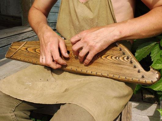 Струнные инструменты ручной работы. Ярмарка Мастеров - ручная работа. Купить Гусли звончатые крыловидные. Handmade. Гусли, славяне, дерево