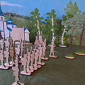 Материалы для творчества handmade. Livemaster - original item Soldiers for creativity. Handmade.