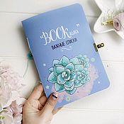 Канцелярские товары handmade. Livemaster - original item Notebook important lists. Handmade.