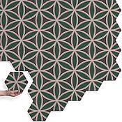 Дизайн и реклама ручной работы. Ярмарка Мастеров - ручная работа Цементная декоративная плитка ручной работы. Handmade.