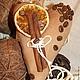 Подарки для влюбленных ручной работы. Заказать Кофейные сердечки мужские. Наталья Давыдова (wondershandmade). Ярмарка Мастеров. Подарок на день валентина