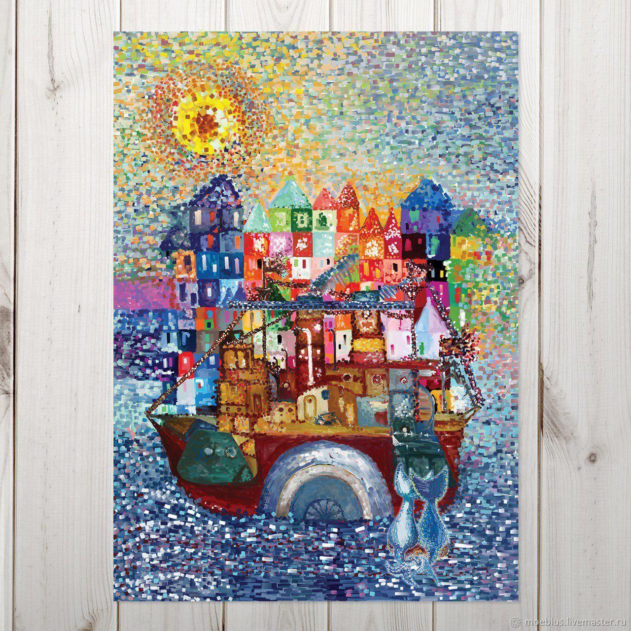 Кораблик. Календарь настенный на 2019 год, Календари, Москва, Фото №1