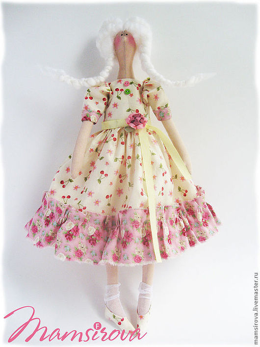 Куклы Тильды ручной работы. Ярмарка Мастеров - ручная работа. Купить Кукла-Тильда-Виталина. Handmade. Кремовый, интерьерная кукла