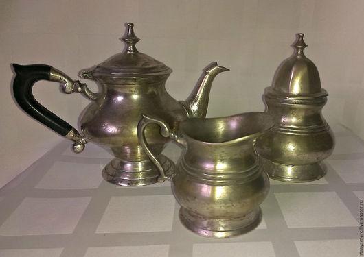 Винтажная посуда. Ярмарка Мастеров - ручная работа. Купить Винтажный  чайный набор для стола Завтрак. Handmade. Чайный сервиз