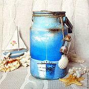 """Для дома и интерьера ручной работы. Ярмарка Мастеров - ручная работа Бидон """"Тихая гавань"""". Handmade."""