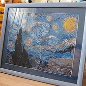 Картины и панно ручной работы. Ярмарка Мастеров - ручная работа Картина из бисера (полная зашивка). Handmade.