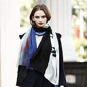 Аксессуары handmade. Livemaster - original item Scarf Cashmere shawl colorful pattern. Handmade.