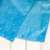 Аксессуары ручной работы. Ярмарка Мастеров - ручная работа Облака - шелковый платок с ручной росписью. Handmade.