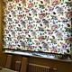 Текстиль, ковры ручной работы. Ярмарка Мастеров - ручная работа. Купить Римская штора. Handmade. Шторы, Римские шторы