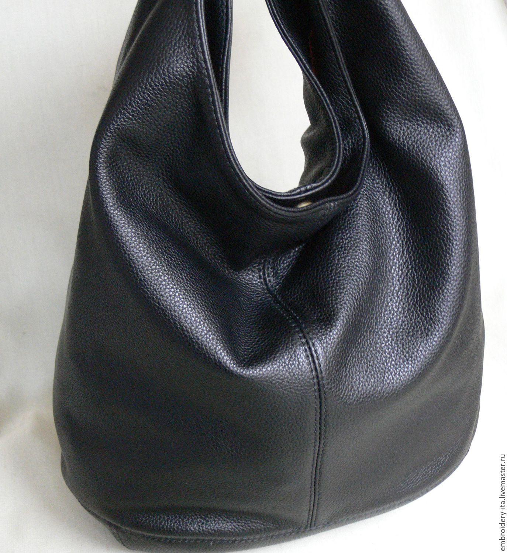 cdc24d6117b1 Сумка-мешок кожаная женская большая мод. 005.5 – купить в интернет ...