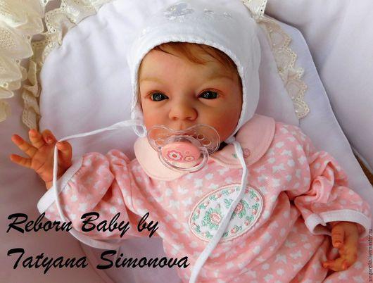 Куклы-младенцы и reborn ручной работы. Ярмарка Мастеров - ручная работа. Купить Кукла реборн из молда Lindea.. Handmade. Бежевый