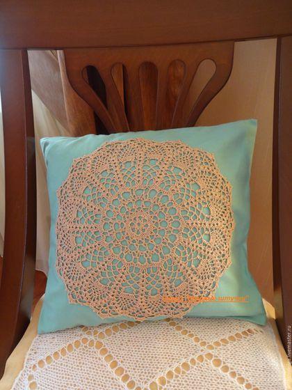 Текстиль, ковры ручной работы. Ярмарка Мастеров - ручная работа. Купить Наволочка на диванную подушку