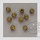 Для украшений ручной работы. Бусина в стиле Пандора серебро, золото.. GalA beads. Интернет-магазин Ярмарка Мастеров. Бусины