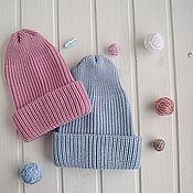 """Работы для детей, ручной работы. Ярмарка Мастеров - ручная работа Детская шапка с отворотом """"Тыковка"""". Handmade."""