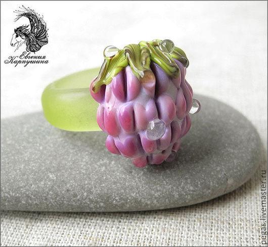 """Кольца ручной работы. Ярмарка Мастеров - ручная работа. Купить Кольцо """"Розовая малина"""". Handmade. Розовый, кольцо"""