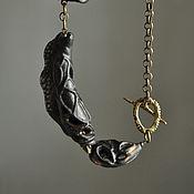 Украшения handmade. Livemaster - original item Porcelain Pendant. Handmade.