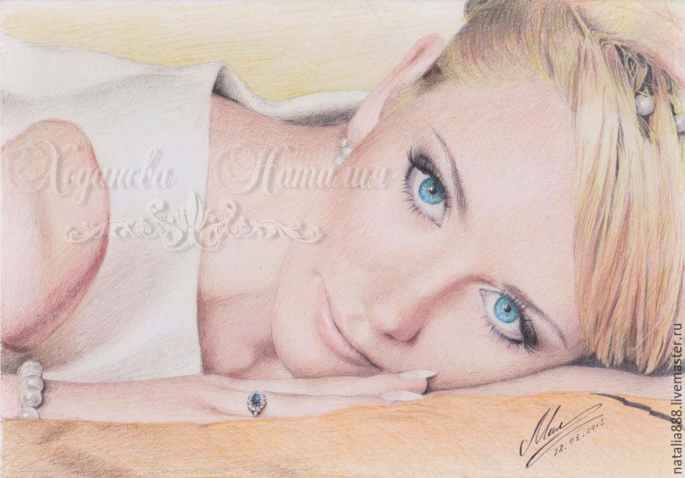 Купить Портрет по фотографии - рисунок ...: www.livemaster.ru/item/1903465-kartiny-panno-portret-po-fotografii