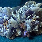 Для дома и интерьера ручной работы. Ярмарка Мастеров - ручная работа подхват для штор Снежная роза. Handmade.