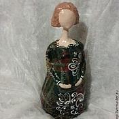 Для дома и интерьера ручной работы. Ярмарка Мастеров - ручная работа ПРОДАНА Кукла помощница в желанной беременности. Handmade.