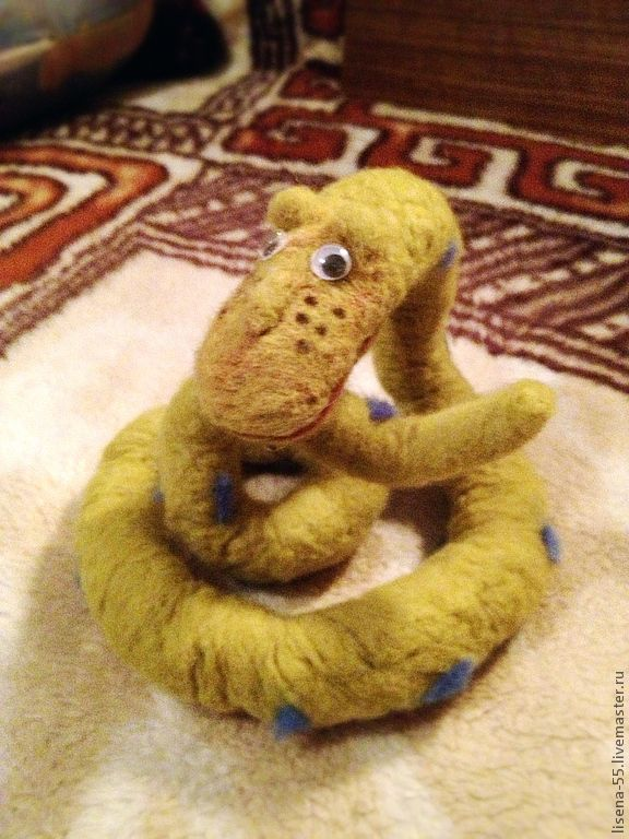 Animal Toys handmade. Livemaster - handmade. Buy Boa.Handmade, souvenirs and gifts, wool