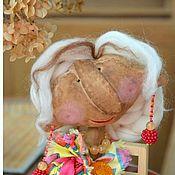 Куклы и игрушки ручной работы. Ярмарка Мастеров - ручная работа Интерьерная Кукла С днем Рождения Лето Чердачная кукла Подарок женщине. Handmade.