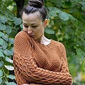 """Одежда ручной работы. Ярмарка Мастеров - ручная работа свитер """"Бронза"""". Handmade."""