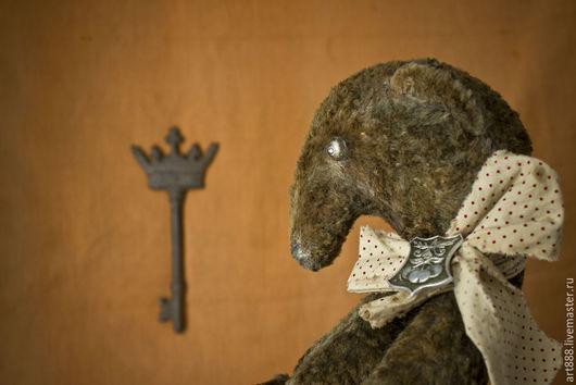 Мишки Тедди ручной работы. Ярмарка Мастеров - ручная работа. Купить Аврора- плюшевый медведь.. Handmade. Коричневый, тедди мишка