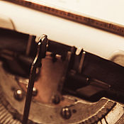 Фото ручной работы. Ярмарка Мастеров - ручная работа Фото: печатная машинка и создание истории.. Handmade.