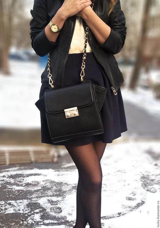 Женские сумки ручной работы. Ярмарка Мастеров - ручная работа. Купить Женская кожаная сумка. Handmade. Сумка из кожи
