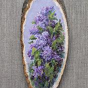 Картины и панно handmade. Livemaster - original item Picture-Lilac. Handmade.