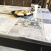 Столы ручной работы. Ярмарка Мастеров - ручная работа Стол «Французская кофейня». Handmade.