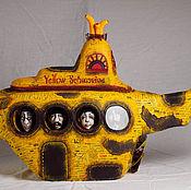 """Куклы и игрушки ручной работы. Ярмарка Мастеров - ручная работа по мотивам The Beatles """"Yellow submarine"""". Handmade."""